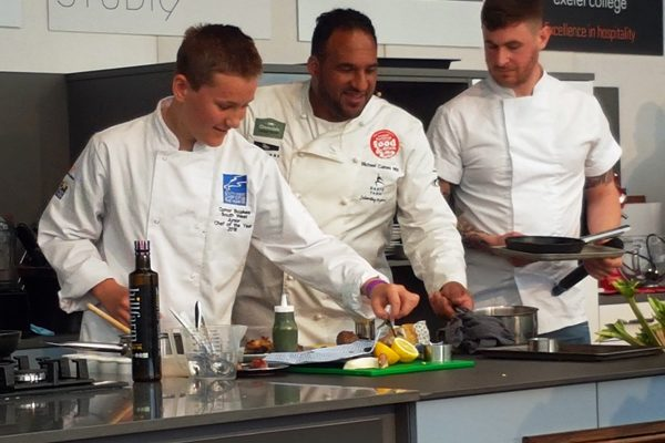South West Chef winners at Exeter Festival